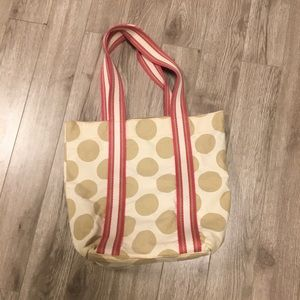 Handbags - Polka dot tote bag